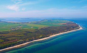 Camping in der Ferienanlage Regenbogen Nonnevitz auf der Halbinsel Wittow an der Ostsee