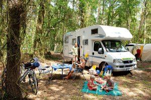 Campingurlaub in der Ferienanlage Regenbogen Nonnevitz auf der Halbinsel Wittow an der Ostsee