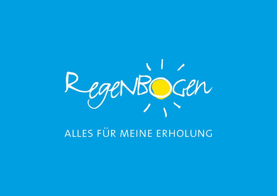 Logo von der Ferienanlage Regenbogen Camp Nonnevitz auf Rügen