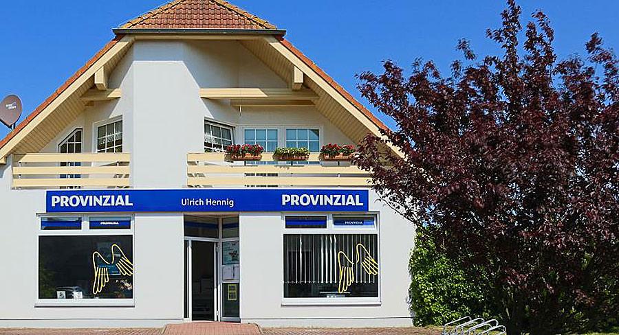 Geschäftsstelle der Provinzial Generalagentur in Dranske auf Rügen