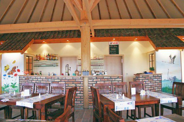 Restaurant in der Ferienanlage Süderhof Rügen in Breege auf Wittow
