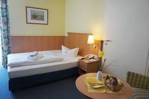 Einzelzimmer im Hotel Atrium am Meer im Ostseebad Juliusruh auf Rügen