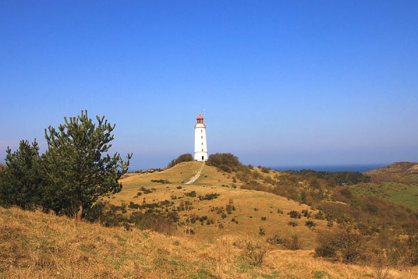 Leuchtturm auf der Insel Hiddensee besuchen mit der Reederei Kipp