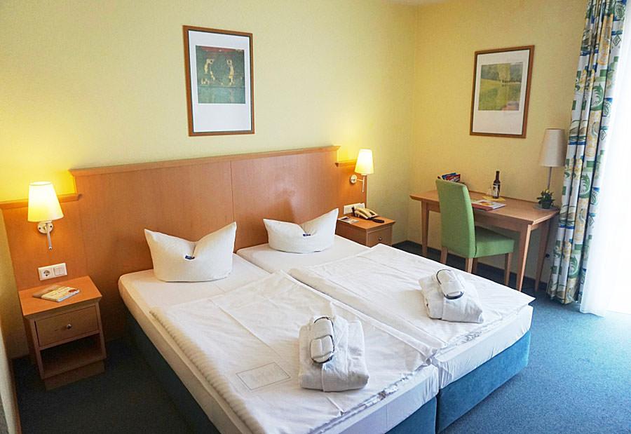 Doppelzimmer im Hotel Atrium am Meer im Ostseebad Juliusruh auf Rügen