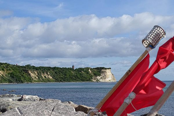 Kap Arkona an der Ostsee auf der Halbinsel Wittow im Norden von Rügen