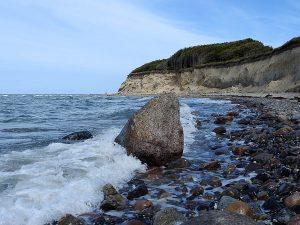 Steilküste der Halbinsel Bug auf Wittow im Norden der Insel Rügen