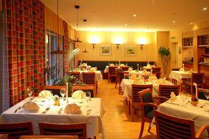Restaurant vom Hotel Atrium am Meer im Ostseebad Juliusruh auf Rügen