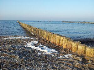 Strand von Dranske auf der Halbinsel Wittow im Norden von Rügen