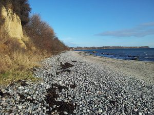 Ostseestrand bei Vitt auf Wittow im Norden von Rügen