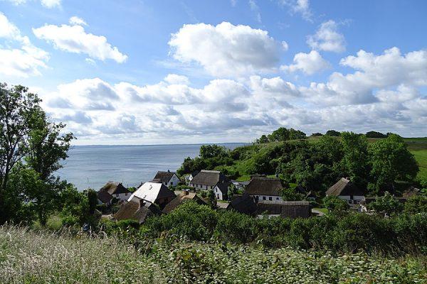 Ort Vitt auf der Halbinsel Wittow im Norden von Rügen