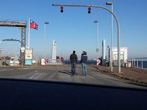 Wittower Fähre der Reederei Weiße Flotte auf Rügen