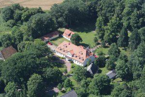 Luftbild vom Lieblingsplatz, mein Landgut in Bohlendorf bei Wiek auf Rügen