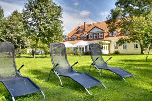 Hotel Herrenhaus Bohlendorf bei Wiek auf der Insel Rügen