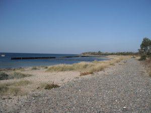 Strandabschnitt in Dranske